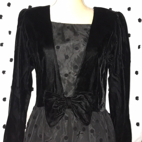 STUNNING Vintage Lanz Originals Cocktail Dress